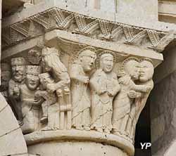 Prieuré Saint-Léonard - Visitation, Annonciation