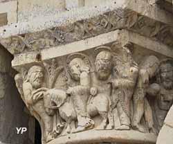 Prieuré Saint-Léonard - entrée à Jérusalem