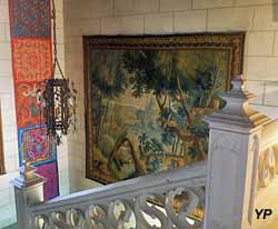 Château de Montpoupon - escalier d'honneur