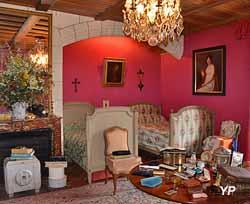 Château de Montpoupon - chambre de Madame