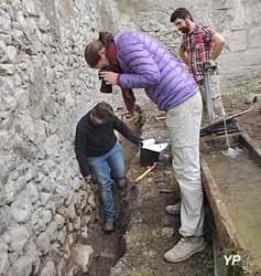 Abbaye d'Abondance - chantier archéologique