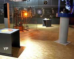 Planétarium de Reims - espace muséographique