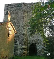 Donjon de la Tour aux Cognons (Hélène Crouzat - Musée archéologique de Civaux)