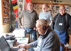 Château Fort de Creully - Musée de la Radio - les radioamateurs émettent du château de Creully