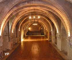 Château Fort de Creully - salle Romane