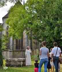 Abbaye d'Ambronay - visite contée