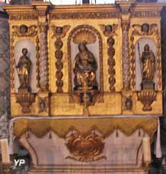 Cathédrale Notre-Dame de l'Assomption - chapelle Sainte-Anne (retable baroque, XVIIe s.)