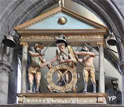 Cathédrale Notre-Dame de l'Assomption - jacquemart du transept (XVIe s.)