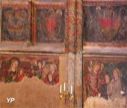 Cathédrale Notre-Dame de l'Assomption - vierge (calcaire polychrome, XIXe s.)