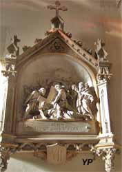 Église Saint-Gorgon - Jésus tombe une seconde fois