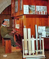 Église Saint-Germain - visite de l'orgue (Association Au Bord des Orgues)