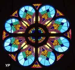 Église Saint-Martin - rosace (JP Prévot)