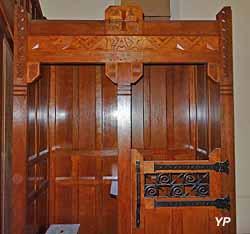 Église Saint-Martin - confessionnal
