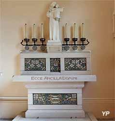 Église Saint-Martin - autel de la Vierge