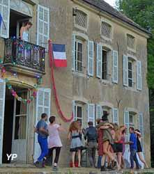 Maison de Jacques Copeau - stage Chantiers nomades avec Arpad Schilling juillet 2016
