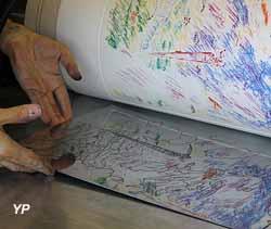 Ateliers d'Art de la Réunion des musées Nationaux - impression d'une chalcographie