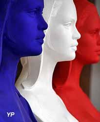 Ateliers d'Art de la Réunion des musées Nationaux - Marianne tricolore (Thomas Lefeuvre)