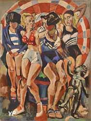 Les baigneuses (François Desnoyer - Musée d'art Roger-Quilliot)