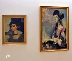 2 portraits de Simone Combe (Jean Jansem - Musée d'art Roger-Quilliot)