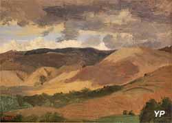 Montagnes d'Auvergne (Camille Corot - Musée d'art Roger-Quilliot)