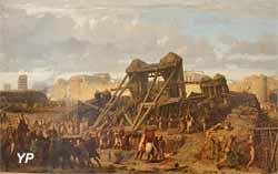 Siège d'une ville par les Romains (Gustave Brion - Musée d'art Roger-Quilliot)