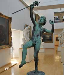 Faune dansant (François Mouly - Musée d'art Roger-Quilliot