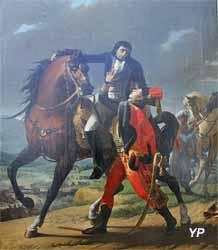 Mort de Desaix à Marengo (Jean-Baptiste Regnault - Musée d'art Roger-Quilliot