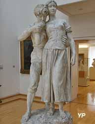 Idylle (Jean-Ossaye Mombur - Musée d'art Roger-Quilliot)