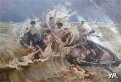 La lutte pour la vie (Henry-Eugène Delacroix - Musée d'art Roger-Quilliot)