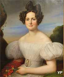 Portrait de madame de Saligny (Thomas Degeorge - Musée d'art Roger-Quilliot)