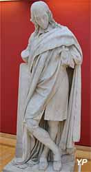 Pascal méditant (Claude Ramey - Musée d'art Roger-Quilliot)