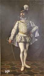 Melchissédec dans Les Huguenots (Henri Adolphe Laissement - Musée d'art Roger-Quilliot)