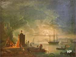 Marine (Joseph Vernet - Musée d'art Roger-Quilliot)