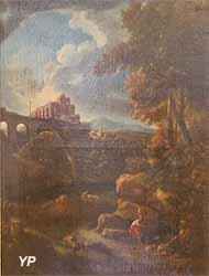 Paysages d'Italie (Jan Frans Van Bloemen, dit l'Orizzonte - Musée d'art Roger-Quilliot)