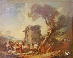 Les Lavandières (François Boucher - Musée d'art Roger-Quilliot)