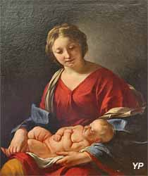 Vierge à l'enfant (Jacques Blanchard, Musée d'art Roger-Quilliot)