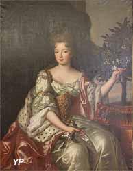 Portrait de mademoiselle de Charolais ou de Blois (Atelier de Hyacinthe Rigaud, Musée d'art Roger-Quilliot)