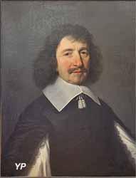 Portrait de Vincent Voiture (Philippe de Champaigne, Musée d'art Roger-Quilliot)
