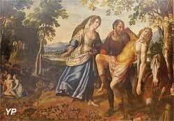 La folie de Roland, tapisserie pour la galerie d'apparat du château d'Effiat (anonyme - Musée d'art Roger-Quilliot