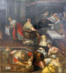 L'accouchée (école de Bassano - Musée d'art Roger-Quilliot)