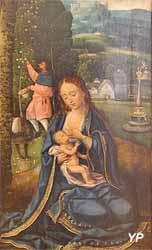Le repos pendant la fuite en Egypte (école de Nüremberg - Musée d'art Roger-Quilliot)