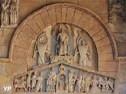 Basilique Notre-Dame-du-Port - tympan portail Sud