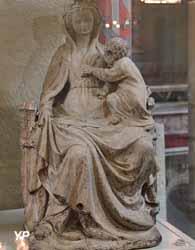 Vierge allaitant - Basilique Notre-Dame-du-Port