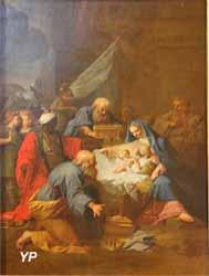 L'Adoration des Mages (Jean Restout - Basilique Notre-Dame-du-Port)
