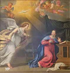 L'Annonciation (Philippe de Champaigne - Basilique Notre-Dame-du-Port)