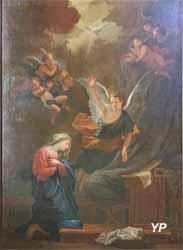 L'Annonciation (Jean Restout - Basilique Notre-Dame-du-Port)
