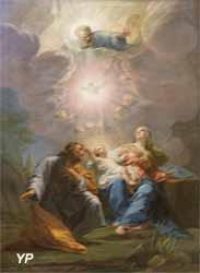 La fuite en Egypte (Jean Restout - Basilique Notre-Dame-du-Port)