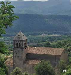 Viens - église Saint Hilaire (Association les Amis de Viens)