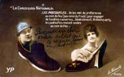 Chercher chaussure à son pied (exposition temporaire) (Musée de la Carte Postale)