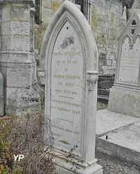 Église Saint-Martin - tombe de Léopoldine Hugo et Charles Vacquerie